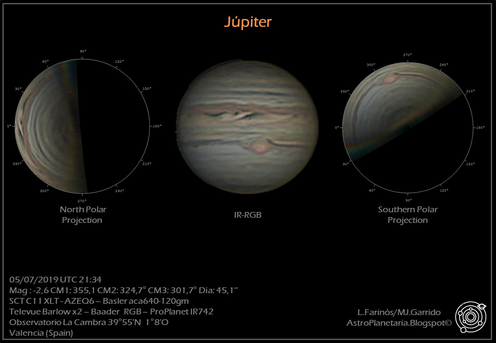 astrofotografía jupiter 2019 astroemocionate