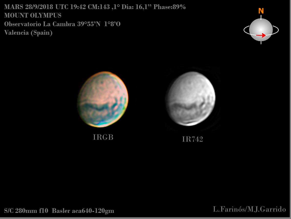 Astrofotografía Marte 2108 AstroEmocionate