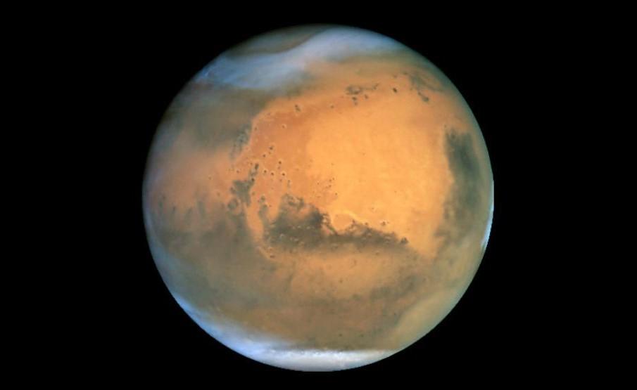 Portfolio astrofotografías Marte