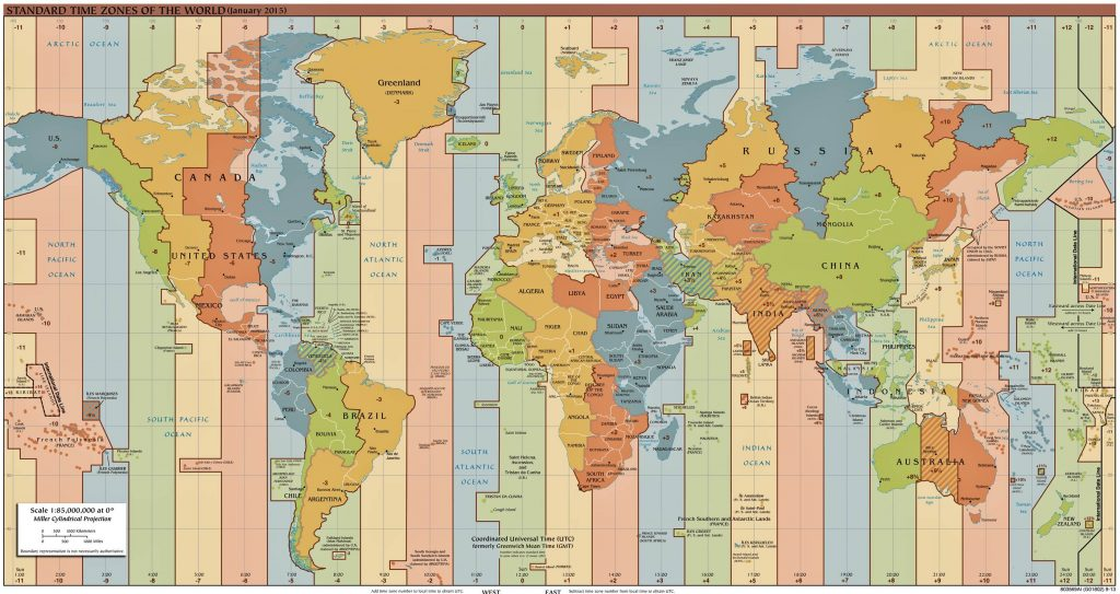 universal time clock