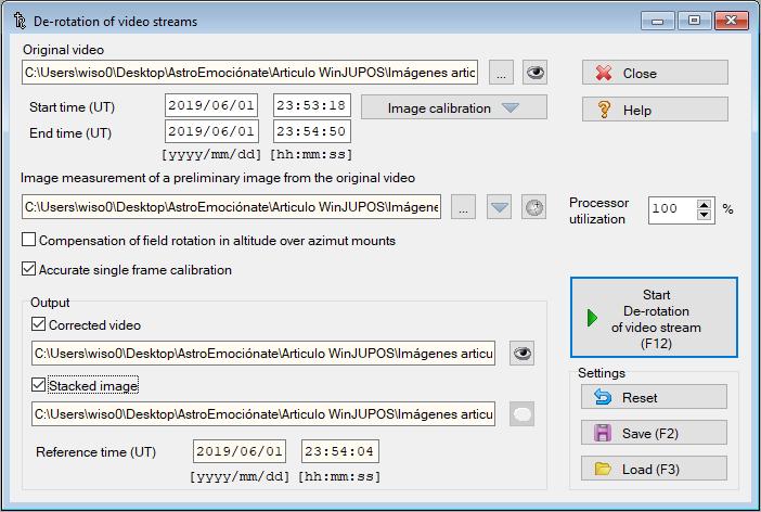 winjupos derotation video streams