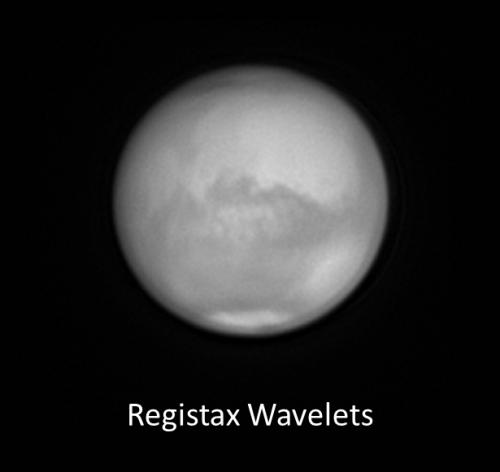 Marte procesado con Registax 6