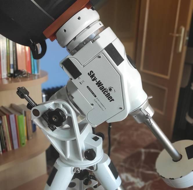 montura skywatcher azeq6 equipo de astrofotografía
