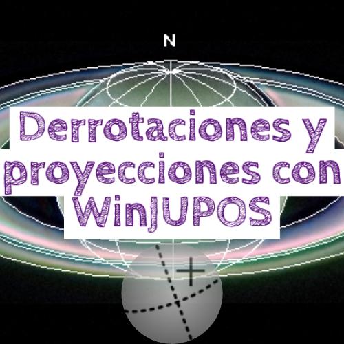 tutorial winjupos derotacion y proyecciones