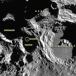 crater lunar faustino