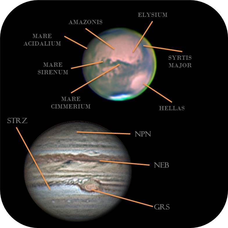 tipos de planetas rocoso y gaseoso