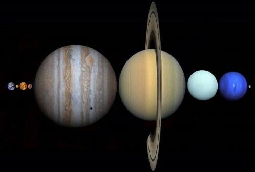 tamaño planeta sistema solar