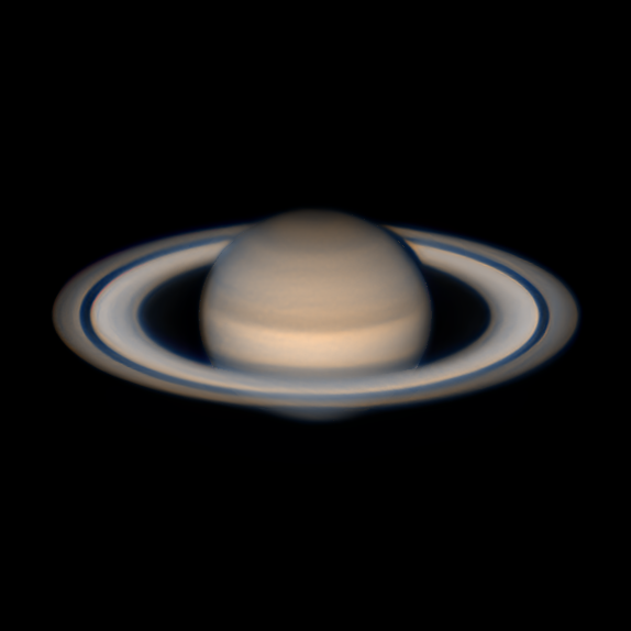 astrofotografia oposicion planetaria Saturno